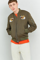 Edwin Military Green Souvenir Jacket