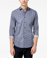Vince Camuto Men's Abstract-Print Long-Sleeve Shirt