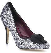 Beyond Skin Women's Sweetie Rounded Toe High Heels In Silver - Size Uk 7 / Eu 40