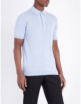 John Smedley Haddon Cotton And Cashmere Polo Shirt