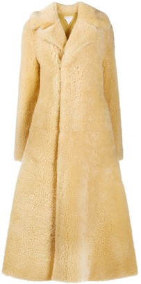 Bottega Veneta Shearling Oversize Coat