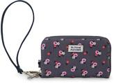 Denim Ditzy Floral Smartphone Wristlet