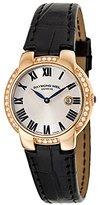 Raymond Weil Women's 5229-PCS-01659 Jasmine Analog Display Swiss Quartz Watch, Black