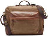 Fossil Defender Canvas Backpack Work Bag with Laptop Sleeve