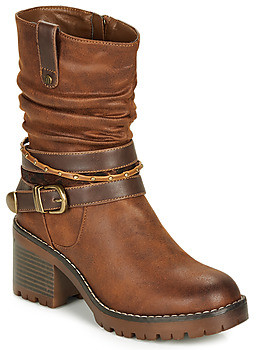 Mtng MTNG 58666-C27928 women's Low Ankle Boots in Brown