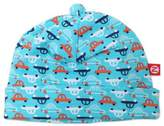 Zutano Size 6M Vroom Cap in Blue