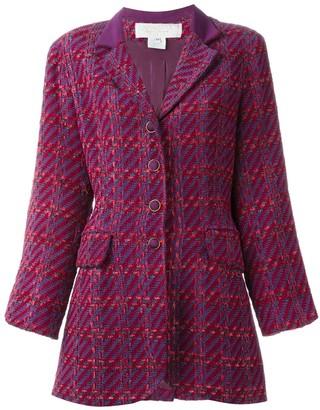 Nina Ricci Pre-Owned checked jacket