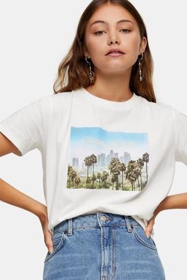Topshop Indigo Summer Dream T-Shirt