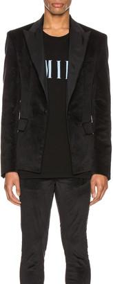 Amiri Velvet Blazer in Black | FWRD