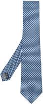 Salvatore Ferragamo bow print tie