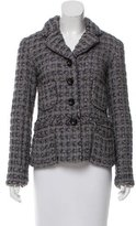 Marc Jacobs Tweed Notch-Lapel Blazer