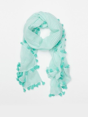 J.Mclaughlin Tapestry Scarf in Stripe