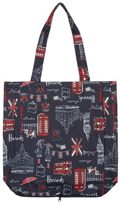 Harrods SW1 Foldaway Shopping Bag