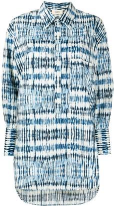 Barena Abstract-Print Long-Sleeve Shirt
