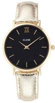 Cluse Women's Minuit Metallic Watch, 33Mm