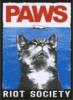 RIOT SOCIETY Paws Sticker