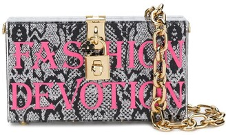 Dolce & Gabbana Fashion Devotion box clutch