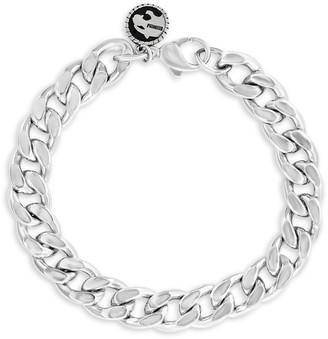 Effy Sterling Silver Flat Curb Chain Bracelet