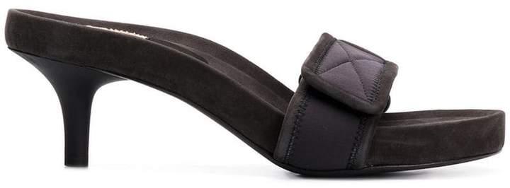 Yeezy open toe mules