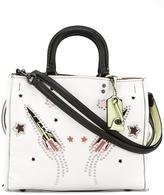 Coach stud-embellished tote bag