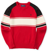Ralph Lauren Boys 8-20 Knit Striped Sweater