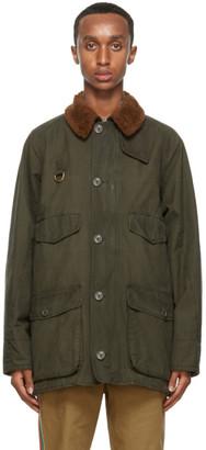 Gucci Green Shrub Cotton Jacket