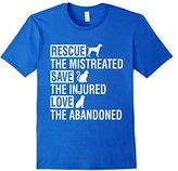 Special Tee Men's Rescue The Mistreated Save The Injured Love T-Shirt XL