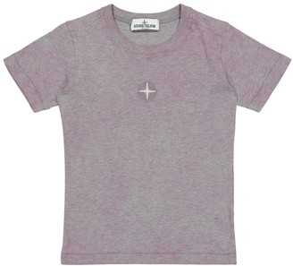 Stone Island Junior Cotton jersey T-shirt