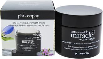 philosophy 2Oz Anti-Wrinkle Miracle Worker Night Plus Line-Correcting Overnight Cream
