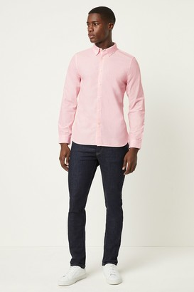 French Connenction Micro Dotted Stripe Shirt