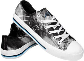 Women's Carolina Panthers Tie-Dye Canvas Shoe