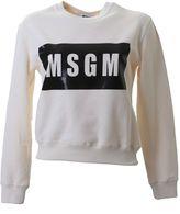 MSGM White Cotton Sweater