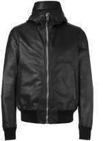 Givenchy perforated hooded jacket