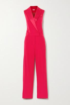 Jason Wu Satin-trimmed Crepe Jumpsuit - Pink