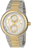 Philip Stein Teslar Women's 31TG-AGW-TGSS Active Two-Tone Gold Plated Bracelet Watch