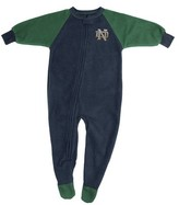 NCAA Boy's Footed Pajamas Notre Dame