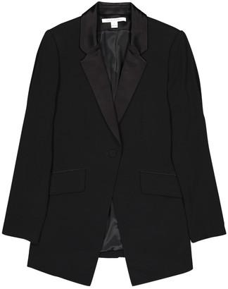 Diane von Furstenberg Black Wool Jackets