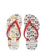 Havaianas Toddler Girl's 'Disney Minnie Mouse' Flip Flop