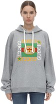 Gucci Star Print Cotton Jersey Hoodie