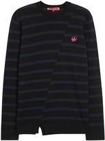Mcq Alexander Mcqueen X Tom Tosseyn Striped Wool Jumper