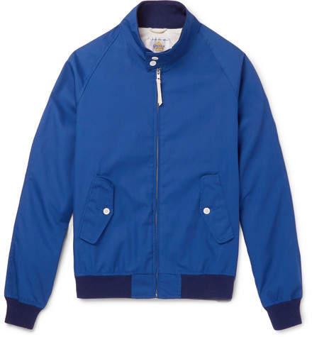 GoldenBear Golden Bear - Poplin Blouson Jacket - Men - Blue