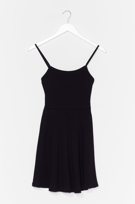 Nasty Gal Womens Open Invitation Mini Dress - Black