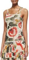 Jean Paul Gaultier Printed Garden Tank Top