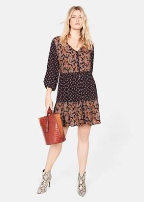 MANGO Paisley print dress