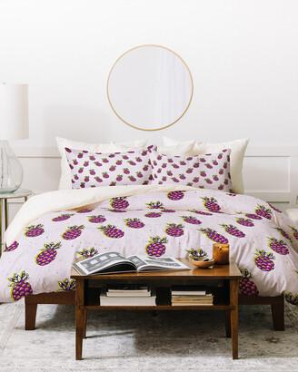 Deny Designs Holli Zollinger Folka Pineapple Duvet Cover Set