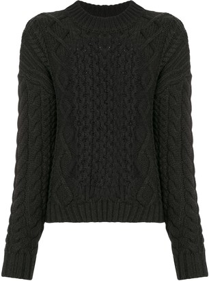 Sir. Ava cable-knit jumper