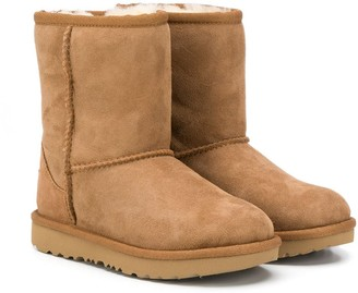 Ugg Kids Shearling Ankle Boots