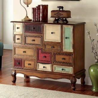 Bungalow Rose Garig 13 Drawer Apothecary Accent Chest