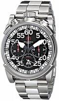 CT Scuderia Men's CS10503 Analog Display Swiss Automatic Silver Watch