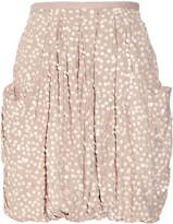 Splendour sequined georgette mini skirt